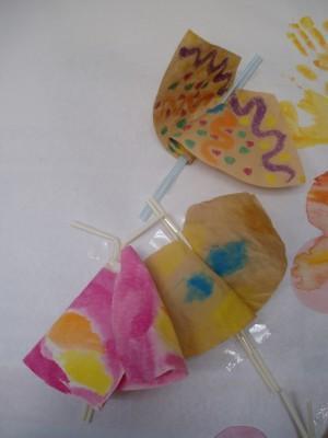 Schmetterlingegebastelt